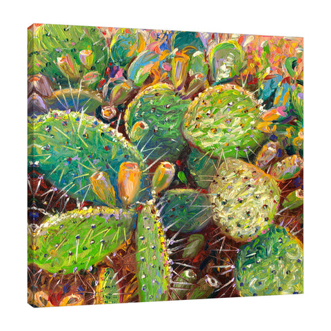 Make Love To A Cactus | Canvas Print