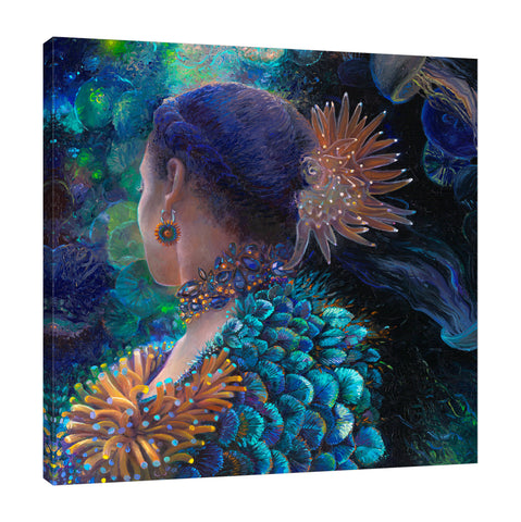 Lady Anemone | Canvas Print