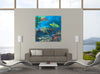 Blue Merlot | Canvas Print