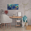 Under The Koi Quilt | Canvas Print