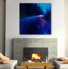 Cobalt Blue Drive | Canvas Print