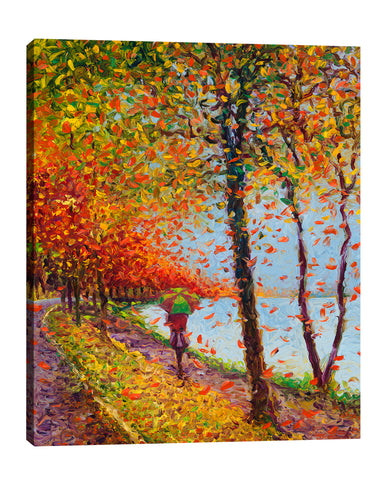 Emma Walks Lakeview | Canvas Print