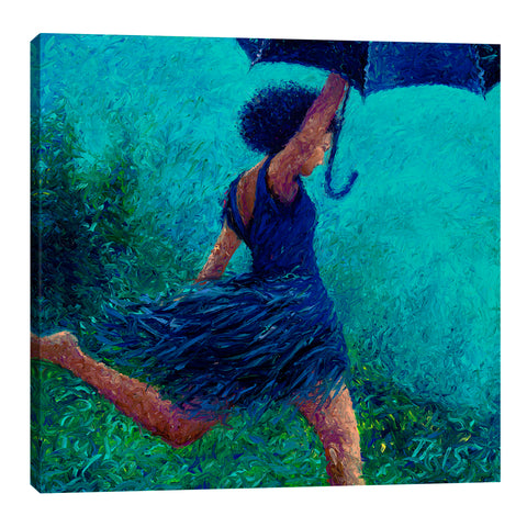 Bumbershoot Dash | Canvas Print