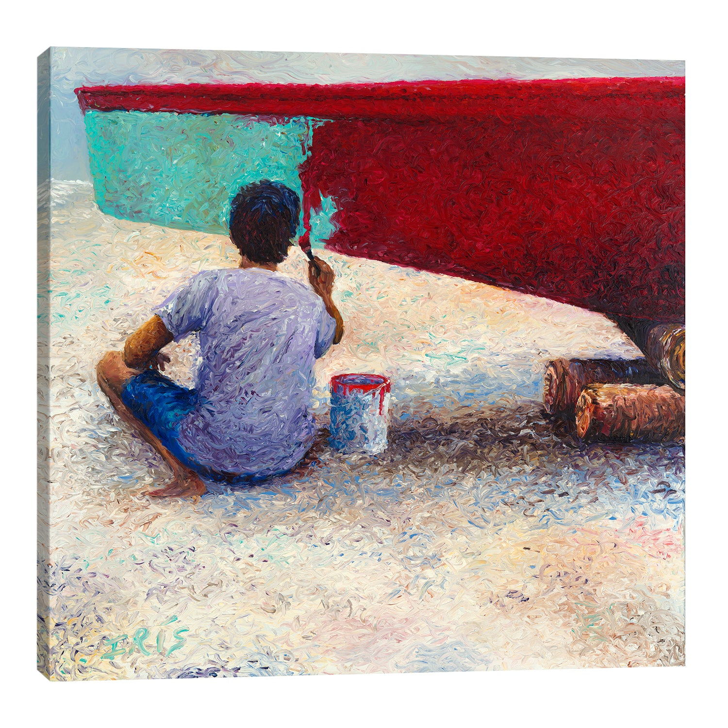 My Thai Boat Painter | Canvas Print