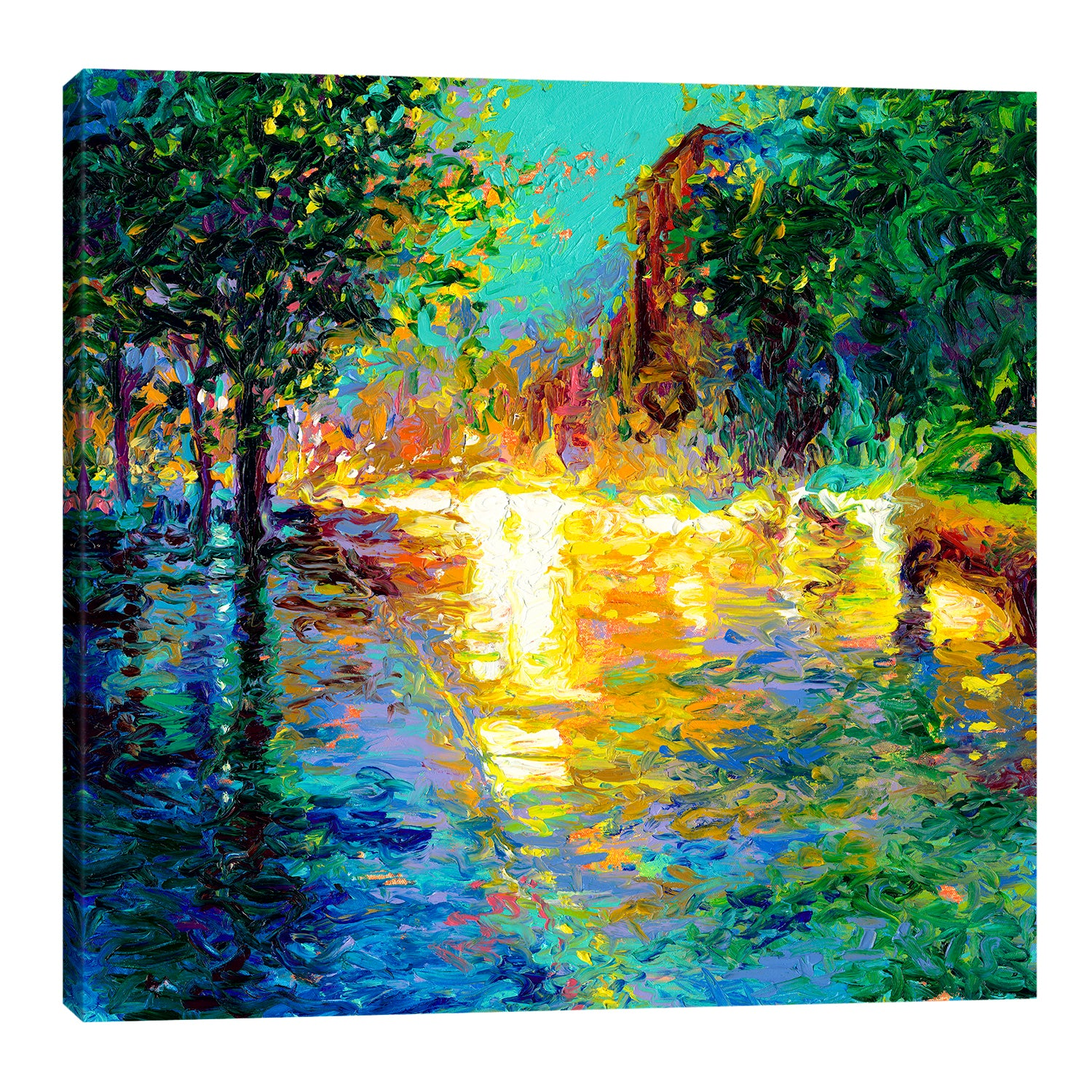 Brooklyn Dawn | Canvas Print