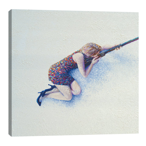 Snow Sniper | Canvas Print