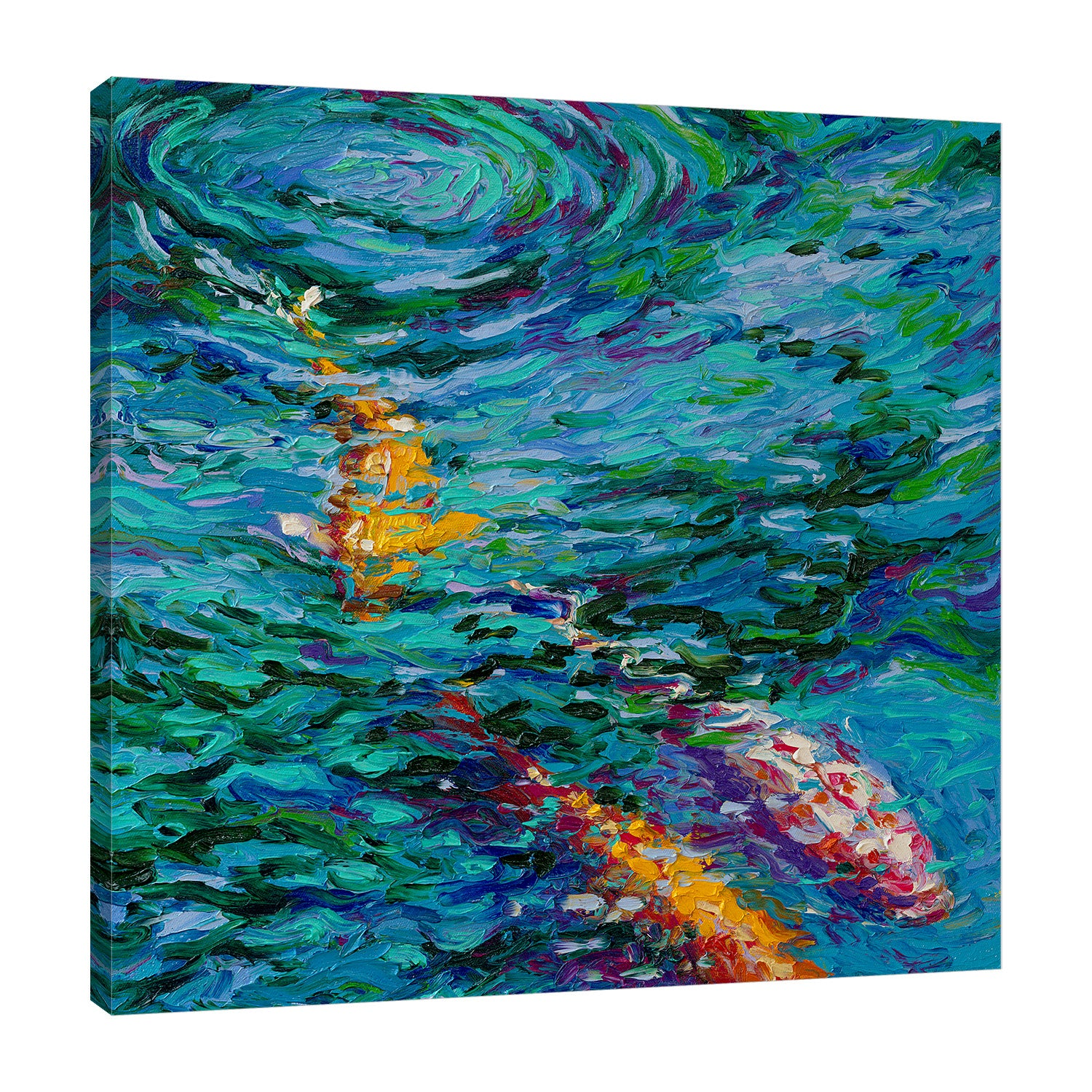 Koi Pool | Canvas Print