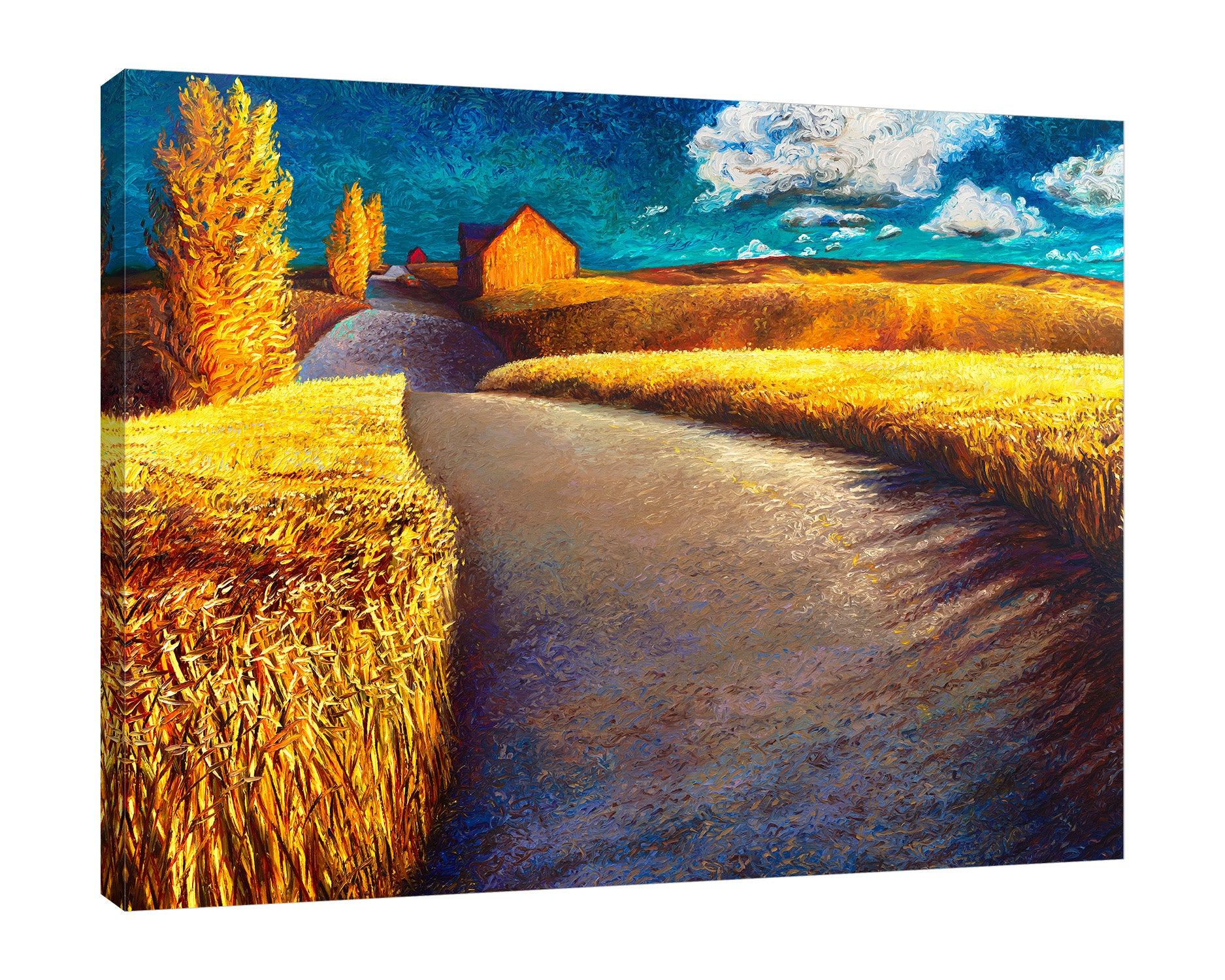 Whispering Wheat | Canvas Print