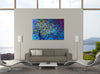 Blue Avian | Canvas Print