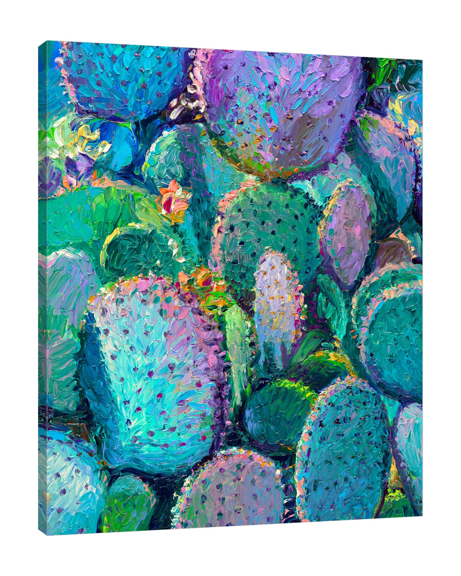Prickly Pear Elsewhere | Canvas Print