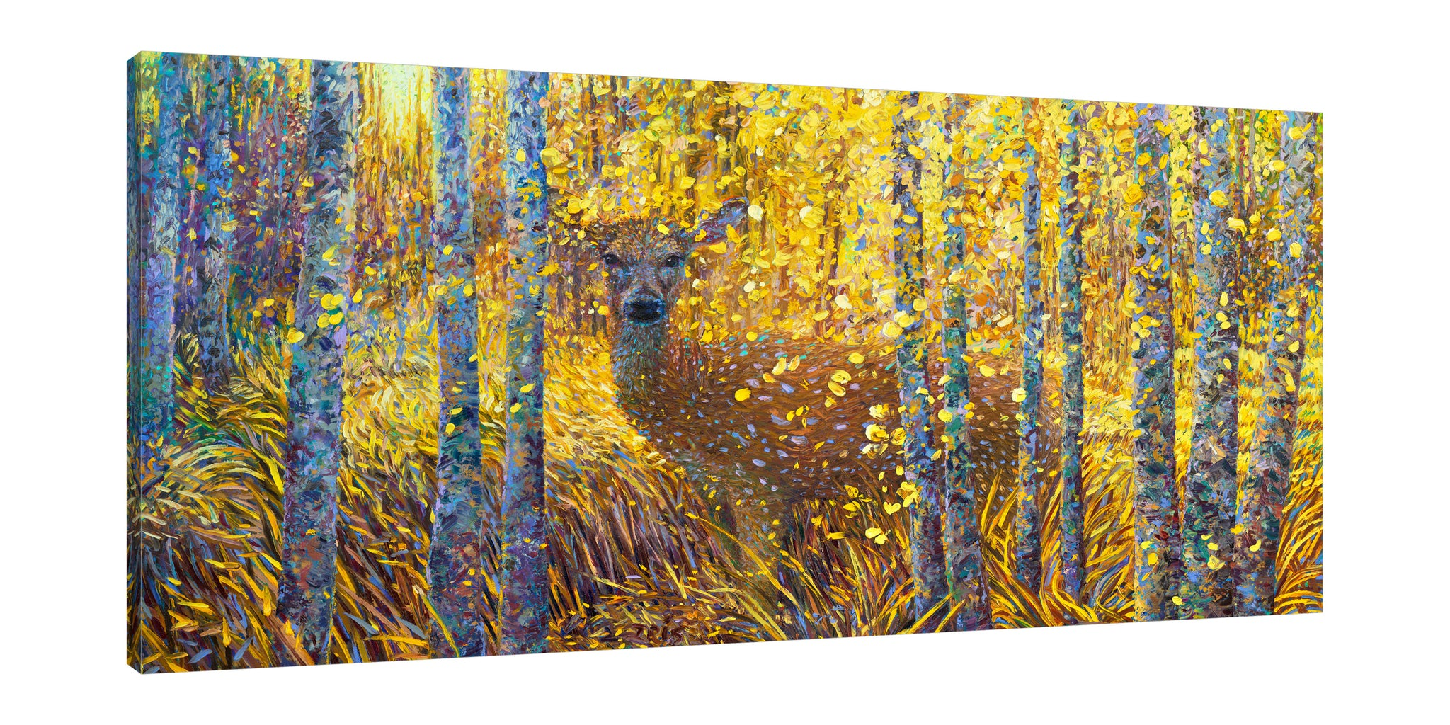 Deer Demure | Canvas Print