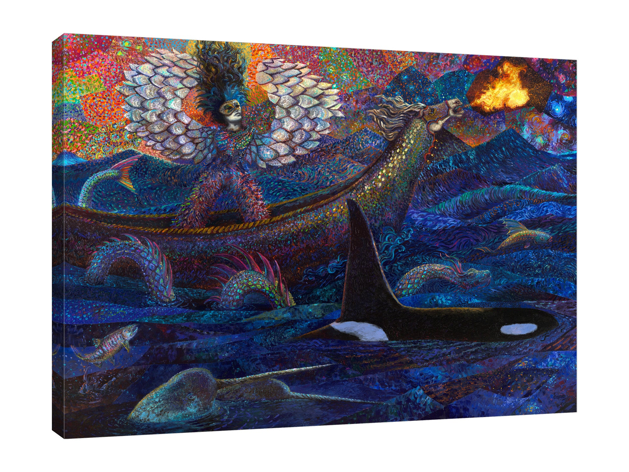 Exodus Of Pisces | Canvas Print