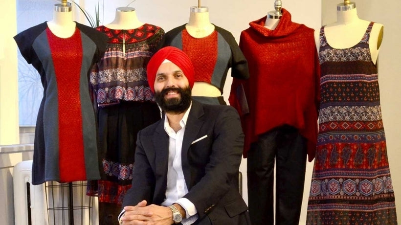 Huffington Post sits down with our designer Kirat Anand