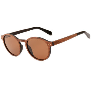 Erie - Layered Wood Sunglasses