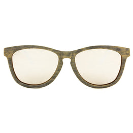 Kiwanda - Grey Maple/Chrome Wood Sunglasses