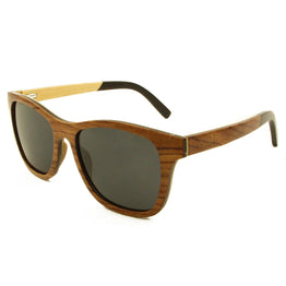 Huron - Pear/Smoke Wood Sunglasses
