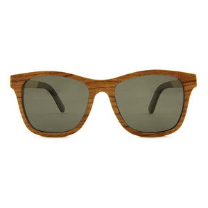Huron - Layered Wood Sunglasses