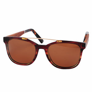 Antero Acetate/Wood Sunglasses