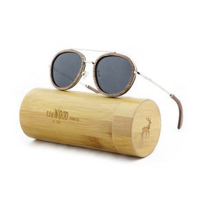 Liberator - Wood+Metal Sunglasses