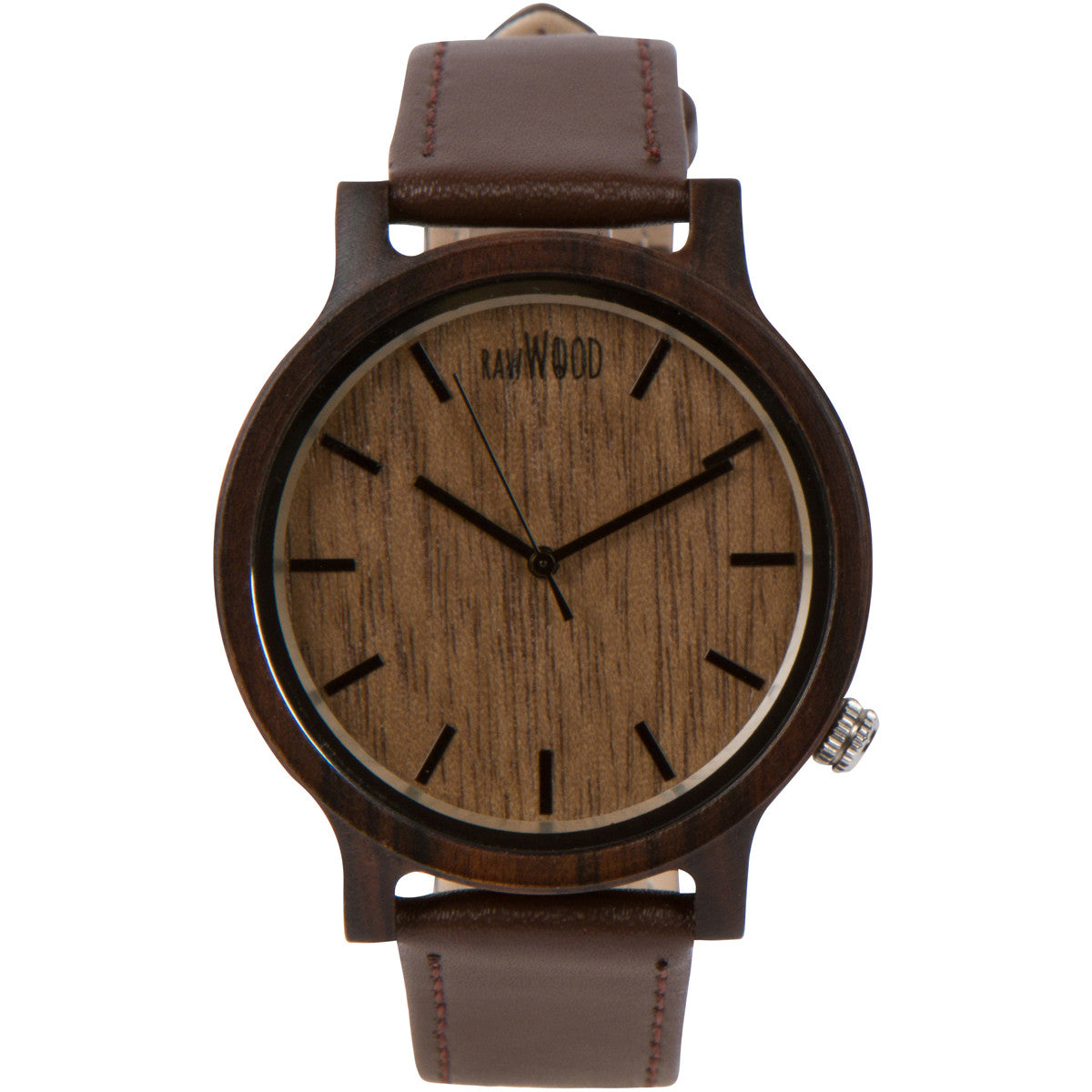 Ionia - Black Sandalwood Wood Watch