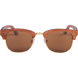 Vince Wood+Metal Sunglasses Clubmaster