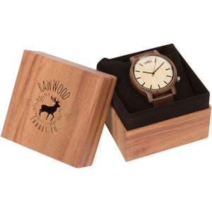 Ionia - Walnut Wood Watch