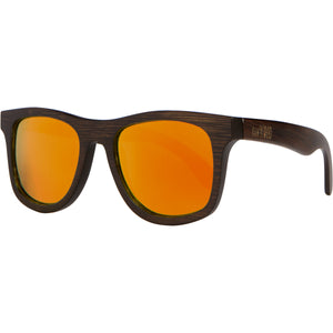 Lakers - Dark Bamboo Wood Sunglasses