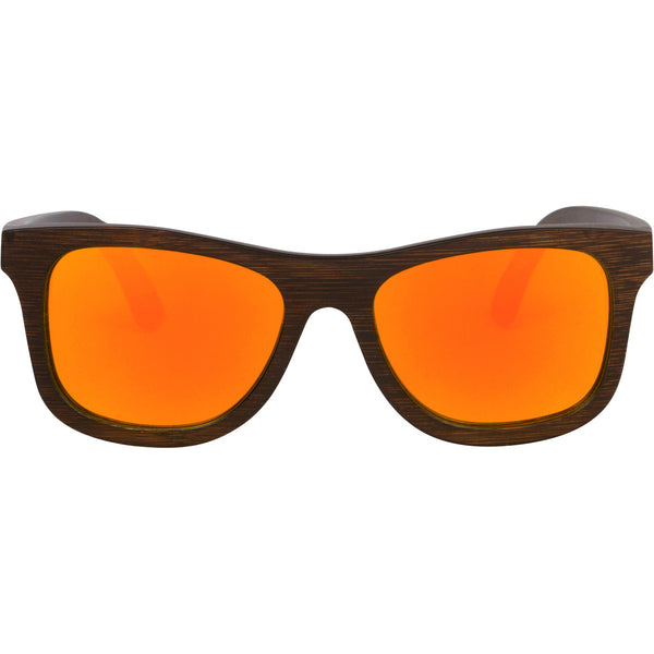 Originals - Brown/Orange Wood Sunglasses
