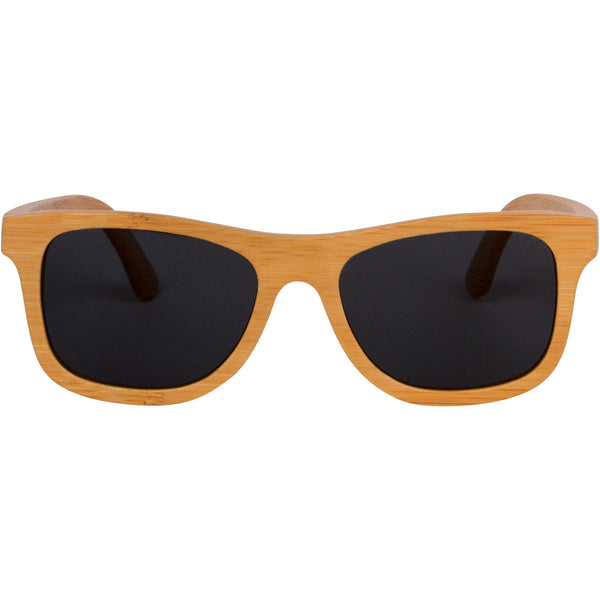 Originals - Natural/Smoke Wood Sunglasses
