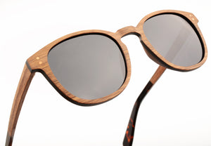 Ontario - Layered Wood Sunglasses