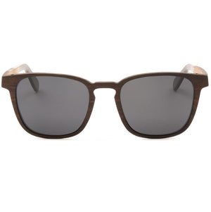 Mortimer - Layered Wood Sunglasses