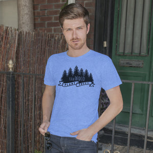 RawWood Plant Trees Tee Blue