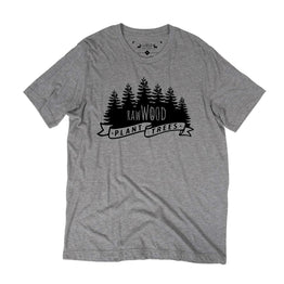 RawWood Plant Trees Tee Heather
