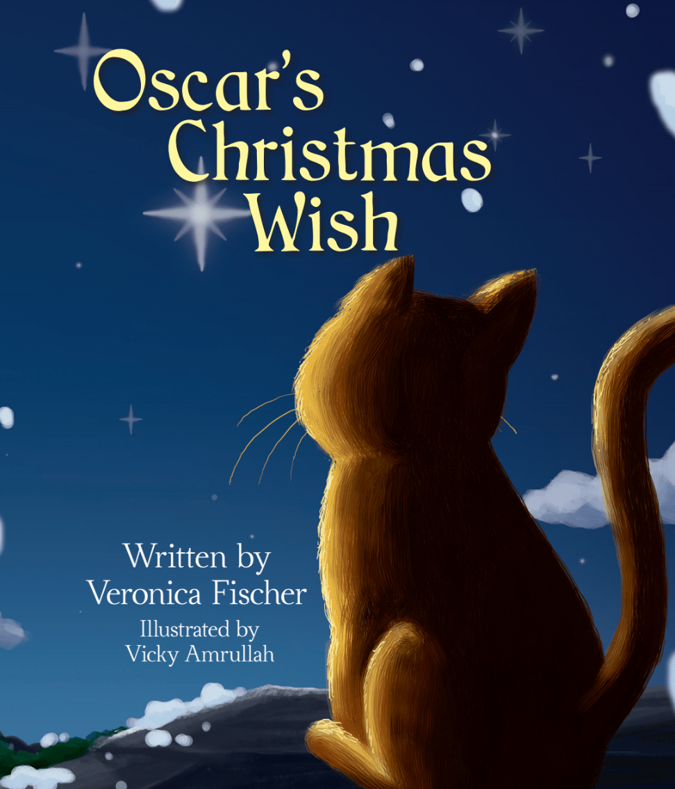 OSCAR'S CHRISTMAS WISH BOOK SIGNED BY AUTHOR