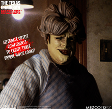 Mezco ONE:12 COLLECTIVE The Texas Chainsaw Massacre (1974): Leatherface - Deluxe Edition
