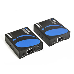 OREI HD-EX196E-K HDMI Extender Over Single CAT6A/CAT7 Cable Uncompressed 1080p @ 60Hz With IR EDID Management - Up to 196 Ft