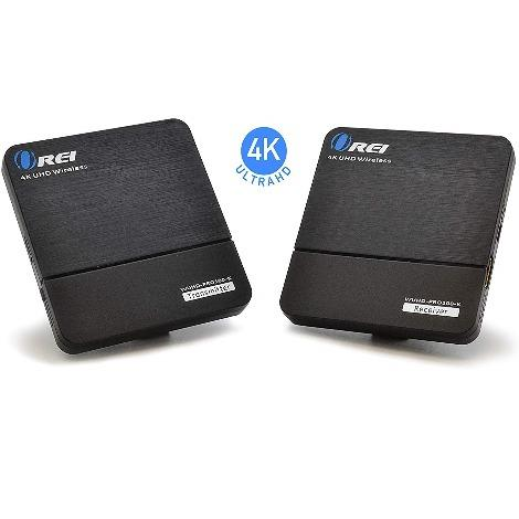 OREI 4K UltraHD Wireless HDMI Transmitter Receiver Extender