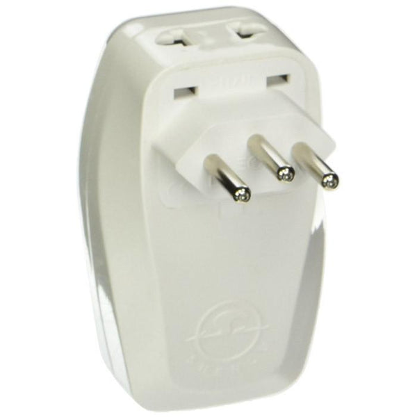 OREI Universal 3 in 1 Plug Adapter for Brazil Travel with USB and Surge Protection-Grounded Type N (WPU-N-GN)