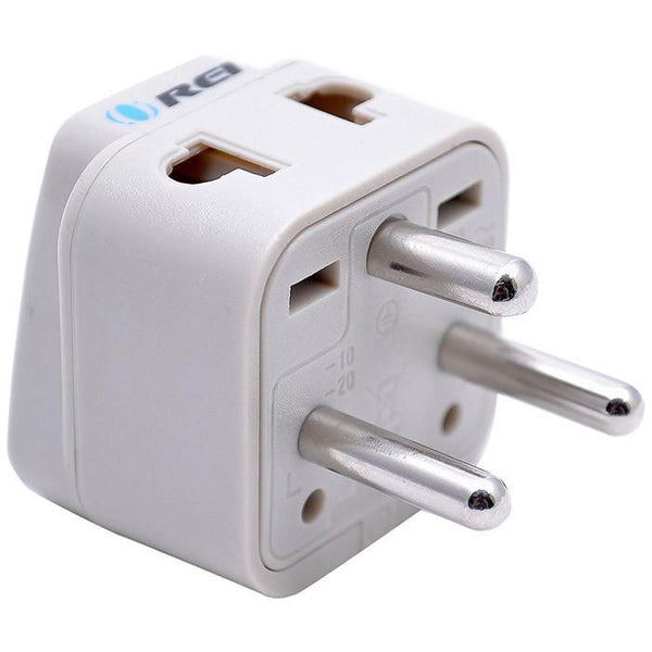 OREI Universal 2 in 1 Plug Adapter Type K for Denmark (Danish), High Quality, CE Certified - RoHS Compliant (WP-K-GN)