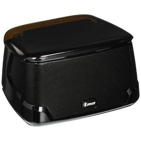 OREI Mini Boom II Enhanced Bass Bluetooth 4.0 Wireless Speaker, Powerful Sound, Built in Mic, Touch Panel & Compact Size