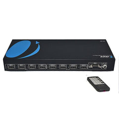 Orei HD-404 HDMI 1080P Switcher Matrix with IR Routing, Remote Control and 3D Support