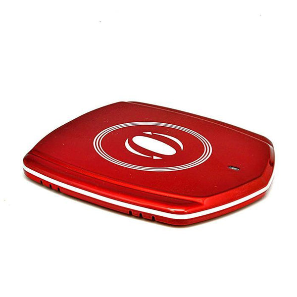 OREI Wireless Charger Charging Pad Station for Samsung S6 / S6 Edge, Nexus 4 / 5 / 6 / 7 and All Qi-Enabled Devices - Frustration-Free Packaging - RED
