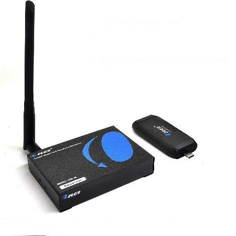 OREI Wireless HDMI Extender Type C Transmitter & Receiver Box
