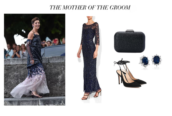 Royal Wedding Inspiration Mother of the Bride Juliette Montique Gown. Image: Getty Images