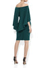 Aerin Teal Crepe Dress