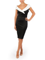 Regan Sateen Dress