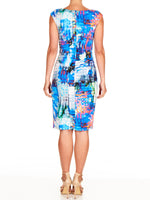 Mara Printed Shift Dress