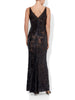 Jacinta Sequin Gown Black