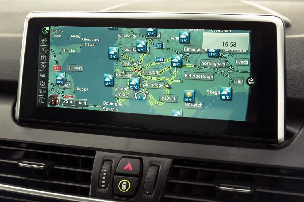BMW & Mini Navigation Map Updates Including FSC Activation Code