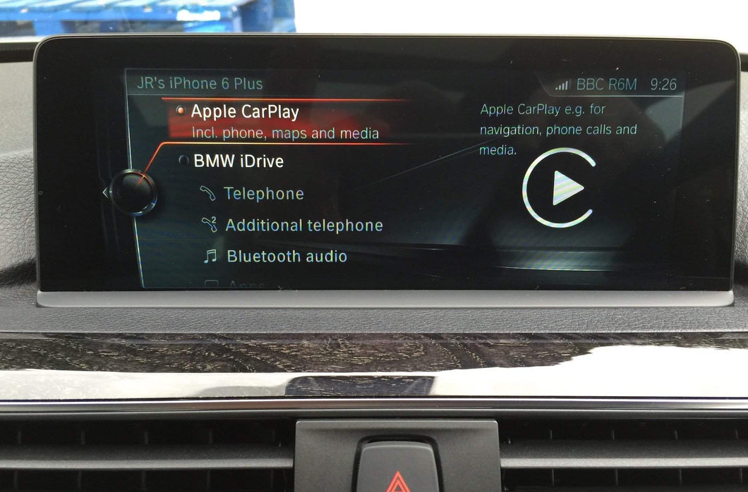 BMW ID5&6 Apple Carplay